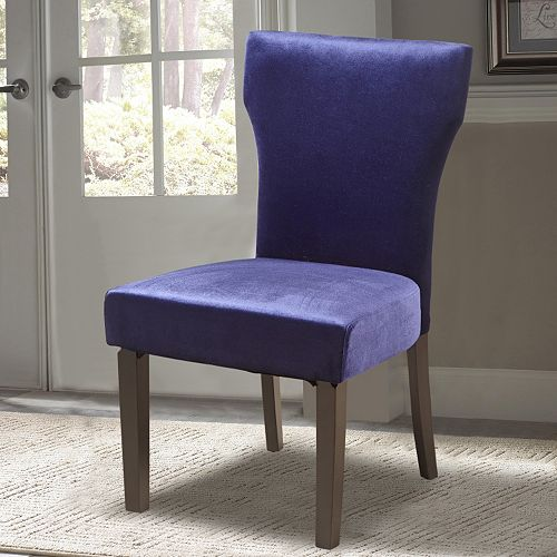 Pulaski Plum Velvet Dining Chair
