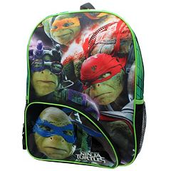 Kids Teenage Mutant Ninja Turtles Movie Backpack