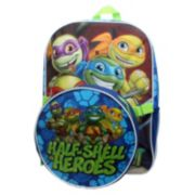 "Kids Teenage Mutant Ninja Turtles ""Half-Shell Heroes"" Backpack & Lunch Tote Set"