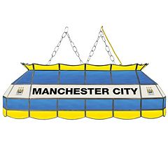 Manchester City FC Hanging Tiffany Bar Lamp