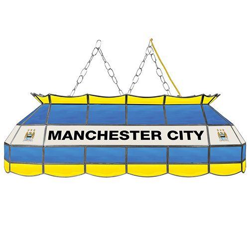 Manchester City FC Hanging Tiffany Bar Lamp