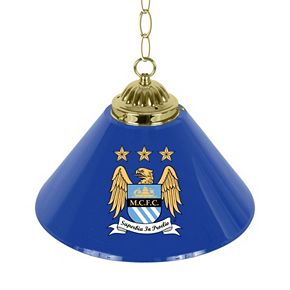 Manchester City FC Single Chrome Bar Lamp