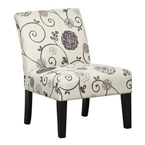 Pulaski Swirl Floral Dining Chair