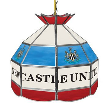 Newcastle United FC Hanging Tiffany Lamp