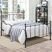Pulaski All-N-One Queen Shaker Metal Bed