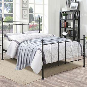Pulaski All-N-One Queen Shaker Metal Bed