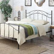 Pulaski All-N-One Scroll Queen Metal Bed