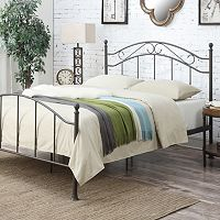 Pulaski All-N-One Scroll Queen Metal Bed