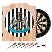Newcastle United FC Cabinet Dart Board Set