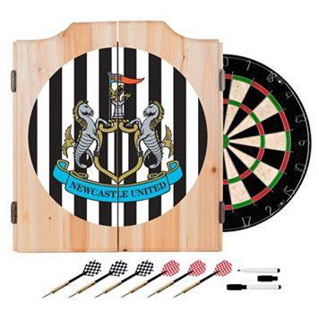 Newcastle United FC Cabinet Dart Board Set