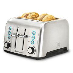 Toastmaster 4-Slice Silver Toaster