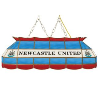 Newcastle United FC Hanging Tiffany Bar Lamp