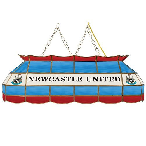 Newcastle United FC Hanging Tiffany Bar Lamp