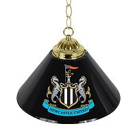 Newcastle United FC Single Chrome Bar Lamp