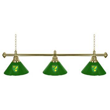 Norwich City FC Chrome Bar Lamp