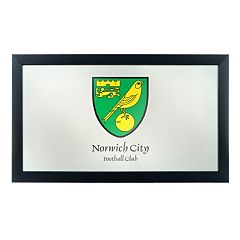 Norwich City FC Framed Mirror