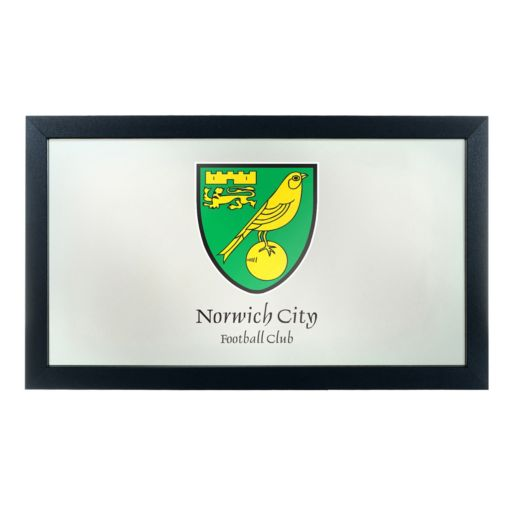 Norwich City FC Framed Mirror