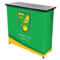Norwich City FC Portable Bar Cart