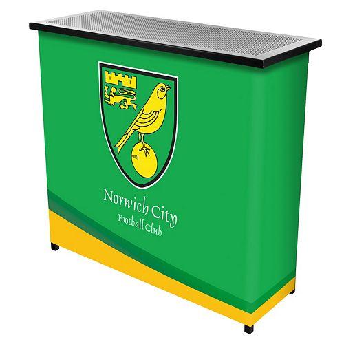 Norwich City FC Portable Bar Cart