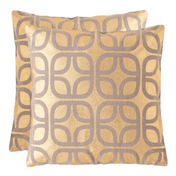 Safavieh Cole Throw Pillow 2-piece Set