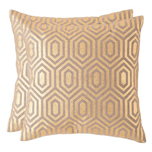 Safavieh Harper Throw Pillow 2-piece Set