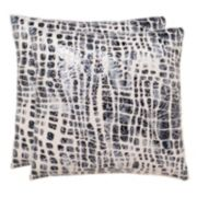 Safavieh Cleo Throw Pillow 2-piece Set