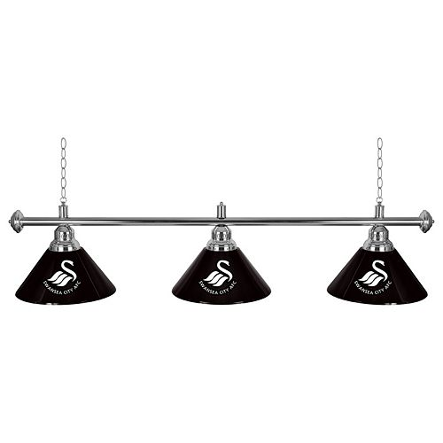 Swansea City AFC Chrome Bar Lamp