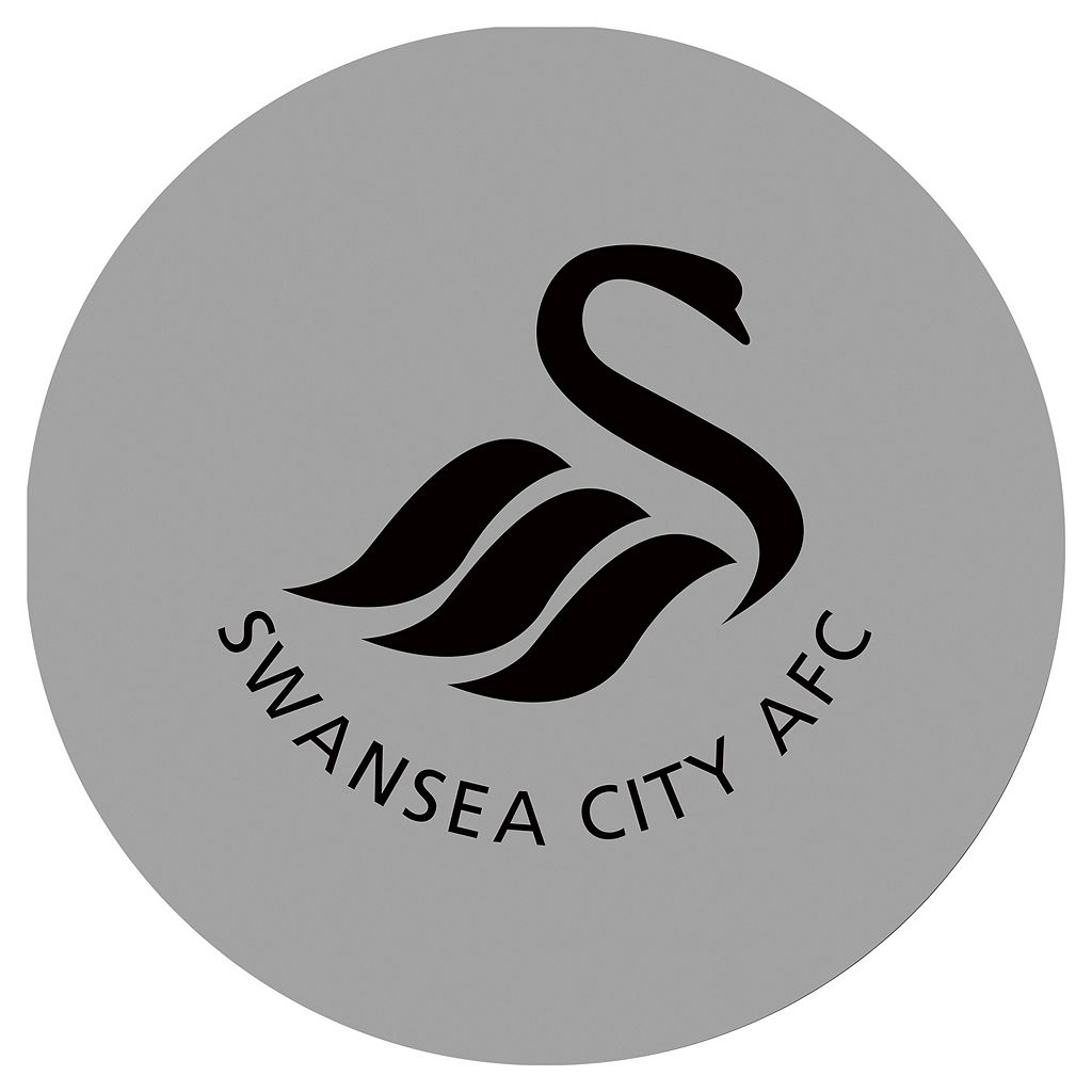 Swansea City AFC Chrome Pub Table