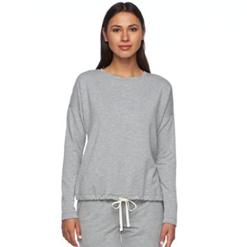 Women's SONOMA Goods for Life™ The Everyday Banded Bottom Lounge Sweatshirt