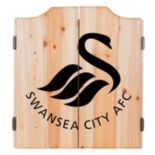 Swansea City AFC Cabinet Dart Board Set