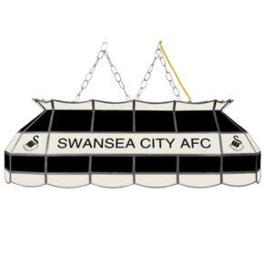 Swansea City AFC Hanging Tiffany Bar Lamp