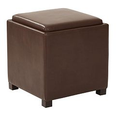 Carter Square Storage Ottoman