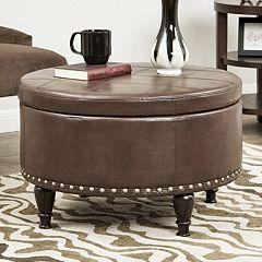 Taylor Round Storage Ottoman
