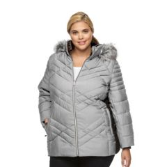 Plus Size ZeroXposur Colleen Hooded Puffer Jacket
