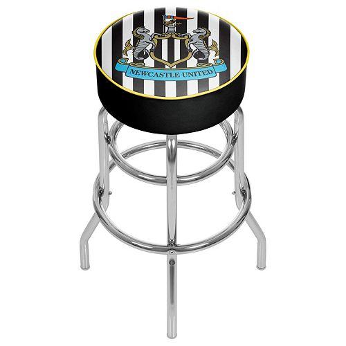 Newcastle United FC Swiveling Chrome Bar Stool