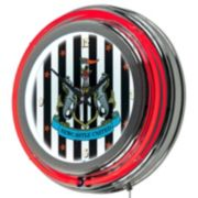 Newcastle United FC Neon Wall Clock