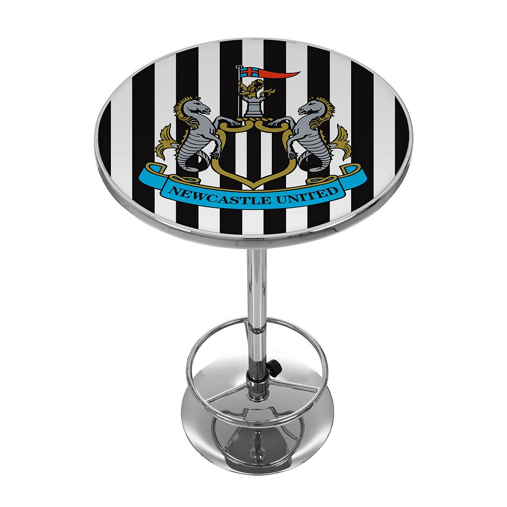 Newcastle United FC Chrome Pub Table