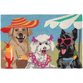 Trans Ocean Imports Liora Manne Frontporch Sassy Lassies Indoor Outdoor Rug
