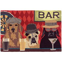Liora Manne Frontporch Bar Patrol Indoor Outdoor Rug