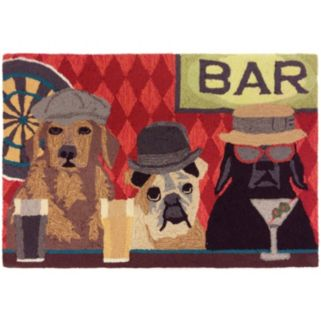 Trans Ocean Imports Liora Manne Frontporch Bar Patrol Indoor Outdoor Rug