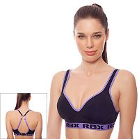 RBX Bra: Molded Convertible Medium-Impact Sports Bra RBX026