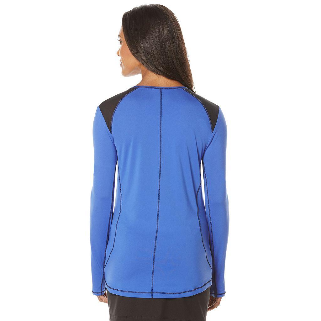 Women's Grand Slam Performance Long Sleeve Golf Shirt