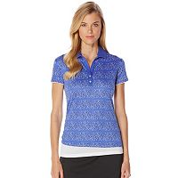 Women's Grand Slam Performance Striped Golf Polo