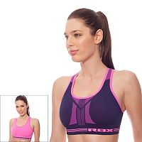 RBX Bra: Seamless Reversible Medium-Impact Sports Bra RBX079