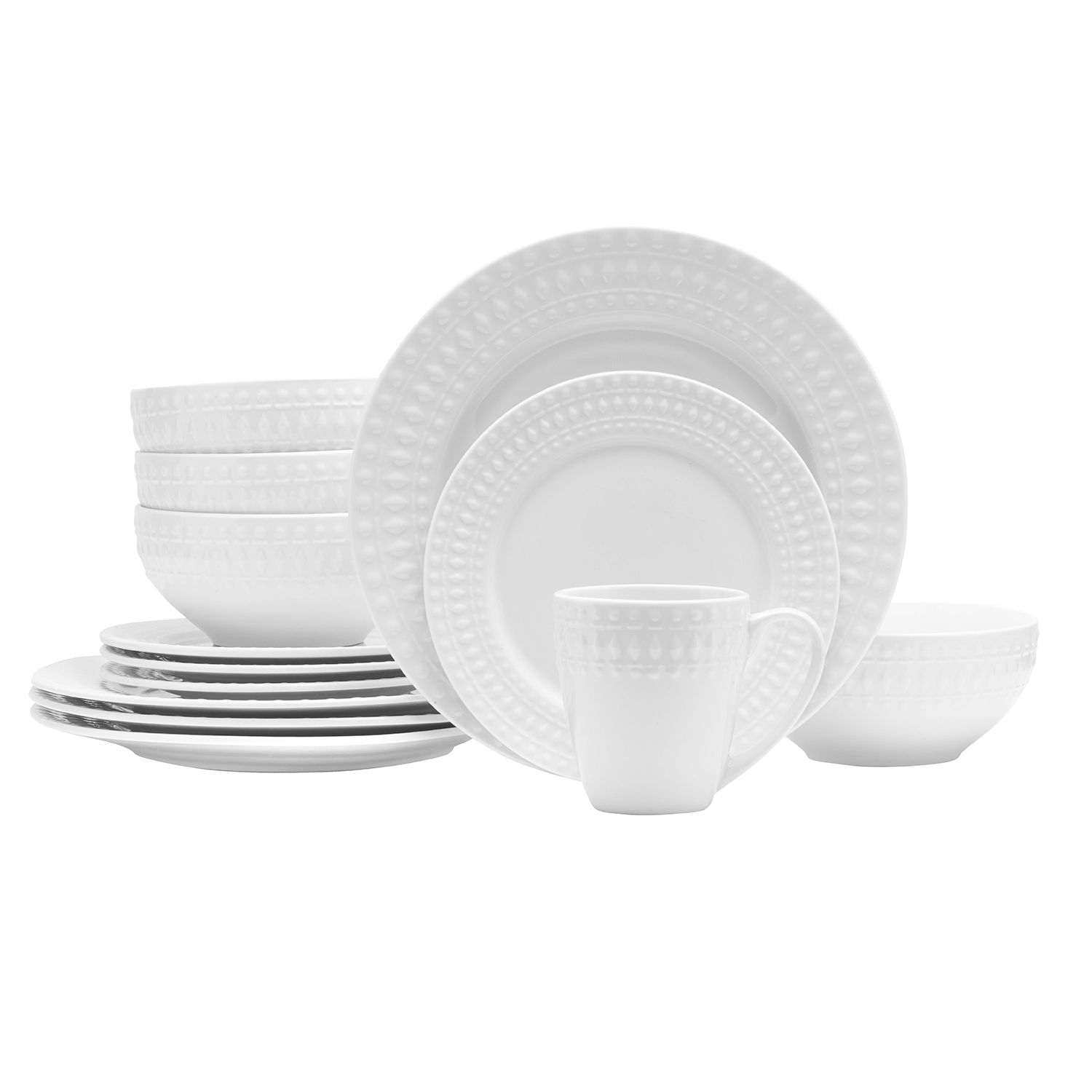 Dinnerware Set  sc 1 st  Kohl\u0027s & Food Network™ Brie 16-pc. Dinnerware Set