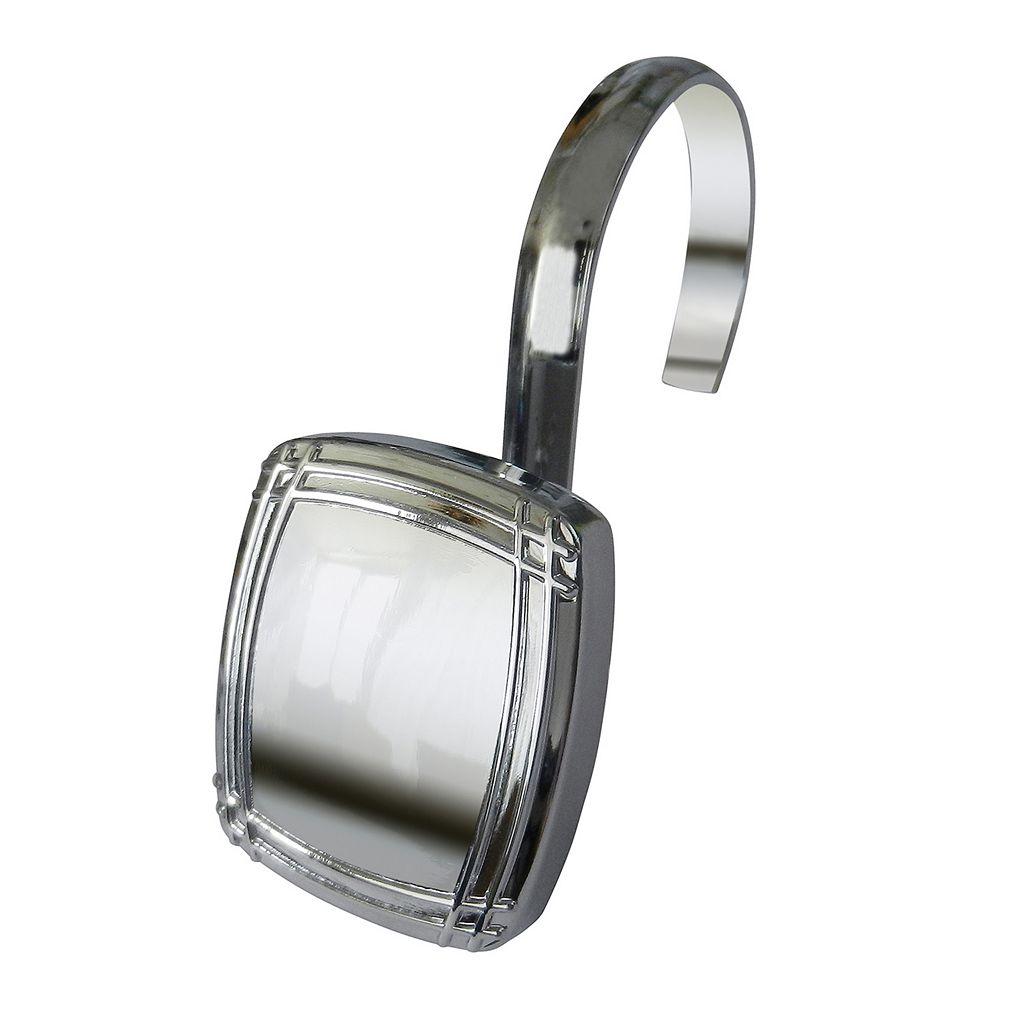 Elegant Home Fashions 12-pack Picnic Shower Hook Set
