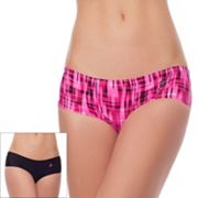 RBX 2-pack No Show Edge Hipster Panties RBX043