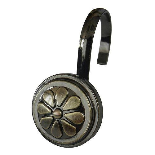 Elegant Home Fashions 12-pack Wagon Wheel Shower Hook Set
