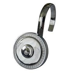Elegant Home Fashions 12-pack Shield Shower Hook Set