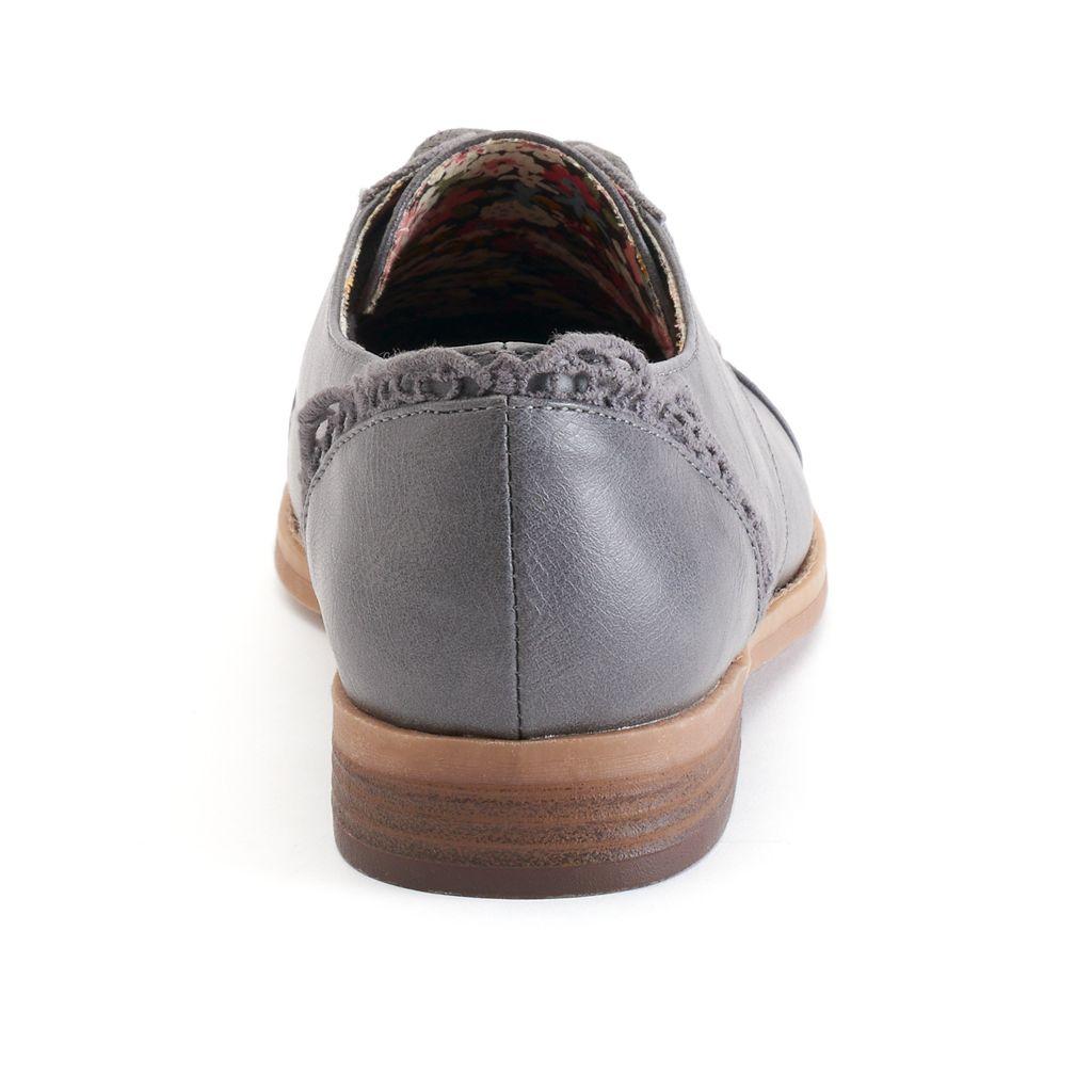 sugar Wilco Women's Cap Toe Oxford Shoes